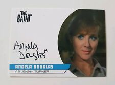 Unstoppable Cards The Saint Series 2 Autograph Card Angela Douglas AD2