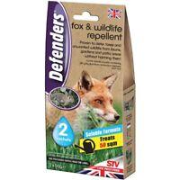 Defenders Wildlife Repellent Deter Fox Nuisance Pests Garden Lawn Patios 2 X 50g