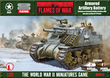 Armoured artillery battery Flames of War