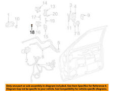 GM OEM Front Door-Lower Hinge Lower Bushing 20429500