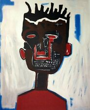 Jean-Michel Basquiat, Self-Portrait 1984, Hand Signed Lithograph