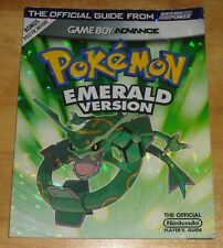 POKEMON EMERALD VERSION Nintendo Power Strategy Guide with Poster