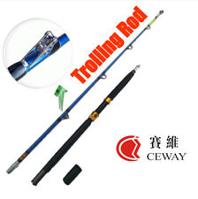 Carbon Fishing Rods Super Hard Trolling Rod Power Jigging Poles Troll Boat Pole