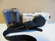 Olympus Pen Lite E-PL7 Camera Body White WIFI