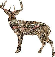 Camo deer hunter sticker