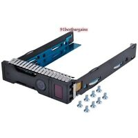"3.5"" HDD Tray Caddy For HP Proliant ML350e ML310e SL250s Gen8 Gen9 G9 651314-001"
