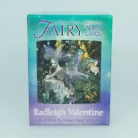Fairy Tarot Cards A 78-Card Deck and Guidebook by Radleigh Valentine English