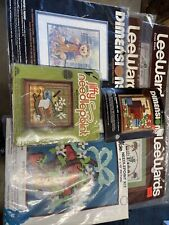Vintage Needlepoint kits lot of 7