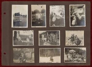 Lot of 10 Original Photos 1927 Italy Aquileia Bled Slovenia Sonnwendstein Alps