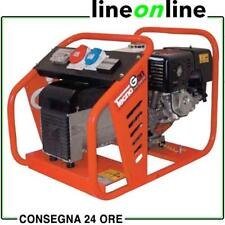 Generatore di corrente 6,70 Kw trifase - 3,4 Kw monofase motore HONDA