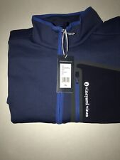 Vineyard Vines Fleece Zip Vest Jacket Men's XLNavy Blue Vintage