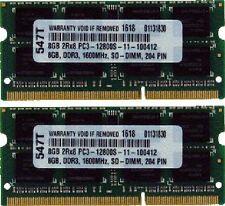 """16GB (2X8GB) DDR3 MEMORY  FOR Apple Mac mini """"Core i5"""" 2.5 (Late 2012) MD387LL/A"""