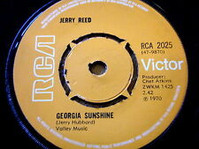"JERRY REED - GEORGIA SUNSHINE  7"" VINYL"