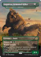 Anguirus, Armored Killer - Gemrazer - Foil x1 Magic the Gathering 1x Ikoria mtg