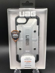 NIB Urban Armor Gear Plasma Series Phone Case for iPhone 8 7 6s Color Ice NIB
