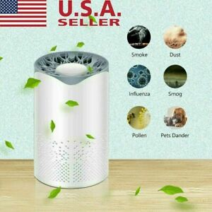 Air Purifier Filter Home Smoke Cleaner Eater Indoor Dust Remover for Room/Car
