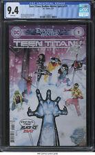 Teen Titans: Endless Winter Special #1 2021 CGC 9.4 - Bernard Chang cover