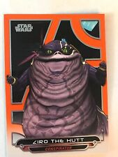 2017 Star Wars Galactic Files Reborn #ACW-11 Ziro The Hutt ORANGE NrMint-Mint