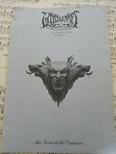 WITCHCRAFT Zine #5 1995 Opeth Desaster Mortiis Accursed Elbereth Goethes Erben