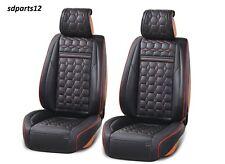 Deluxe Housse de siège d'auto en cuir PU noir pour  Citroen C3 C4 C5 DS3 DS5
