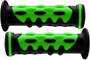 KAWASAKI JET SKI 300 440 550 650 SX JS PWC GREEN KNOBBY HANDLEBAR GEL HAND GRIPS