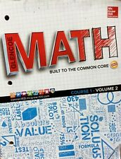 Glencoe MATH Built to the Common Core Course 1 Vol. 2