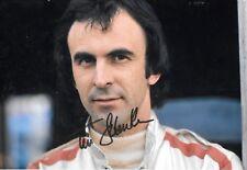 Tim Schenken SIGNED 12x8  F1 De Tomaso Portrait 1970