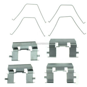 For Acura RL TL CL TSX & Honda Accord Centric Front Brake Hardware Kit TCP