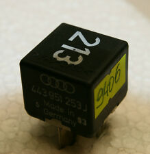 443951253J Original Audi VW SEAT SKODA 899511000 Nr. 213 Relais 443 951 253 J