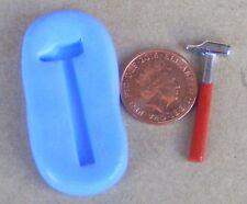 Martillo Reutilizables Molde de Silicona Pastelería joyas, tarjeta Topper alimentos seguros 2