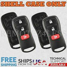 Replacement for Nissan Infiniti Entry Remote Car Key Fob Shell Case 3b Pair
