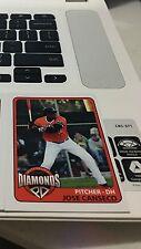 2017 Rare Uncirculated Jose Canseco Baseball Card MLB MVP Pittsburg Diamonds