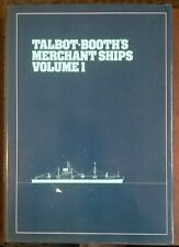 Talbot-Booth's Merchant Ships Volume 1 Hardcover in Dustwrapper