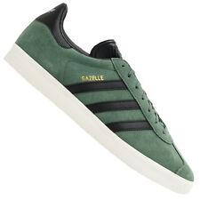 Adidas Originals Gazelle Zapatillas Cuero de Deporte BZ0033 Trace Verde Black