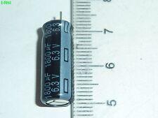 NEW 100pcs Panasonic 6.3V 1800uF 6.3v FL Motherboard Capacitors 8X20mm