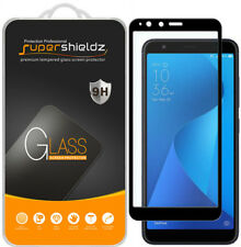 Supershieldz ASUS ZenFone Max Plus M1 Tempered Glass Screen Protector (Black)