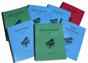 7 Church Hymn Arrangements Books for Piano - Books 1 - 7 Solo Offertory Worship