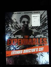 THE EXPENDABLES Blu-Ray Director's Cut STALLONE Jason STATHAM Jet LI Do Lundgren