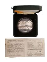Latvia 1 Lats 2000. Earth. Silver Proof