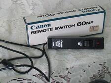 Canon Remote Switch 60MF For Canon F-1 Film SLR Camera