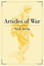 Articles of War: A Novel, Nick Arvin, Good Books