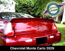 PAINTED ANY COLOR CHEVROLET MONTE CARLO PACECAR FACTORY STYLE SPOILER 2000-2005