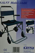 Mobilstuhl Rollstuhl Reiserollstuhl Faltbar Tasche Transportstuhl Neuware/OVP