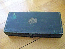 POCKET GOLD SCALES ANTIQUE AMERICAN WITH EAGLE CASE