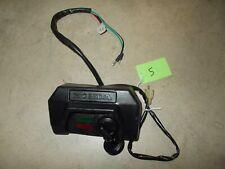 1985 1986 1987 Honda Big Red 250 ES Dash Indicator Lights Key Switch On Off