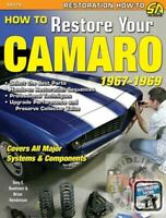 How To Restore Your Camaro Restoration Manual Book 1967 1968 69