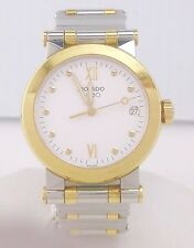 Movado - Vizio - Two Tone Stainless Steel 18k Gold - Unisex Watch ~#4167