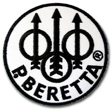 Beretta patch Iron on Embroidered Pistols Guns Rifles Shotguns Firearms Emblem