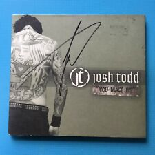 JOSH TODD - You Made Me *RARE SIGNED* BUCKCHERRY AND THE CONFLICT SPRAYGUN WAR