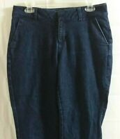 Coldwater Creek Womens Size 12 Petite Stretch Dark Wash Boot Cut Denim Jeans